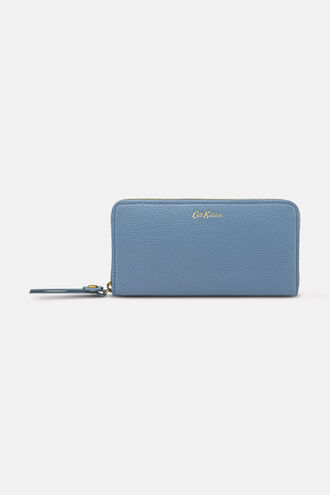 Pebble Leather Continental Wallet