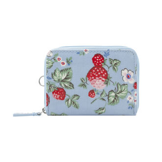 Mini Wild Strawberry Zipped Travel Purse