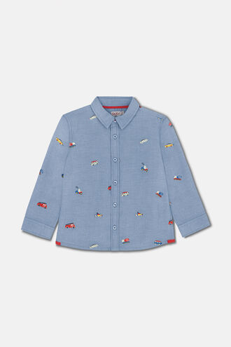 Kids Embroidered Shirt