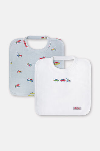Baby Square Bibs 2 Pack