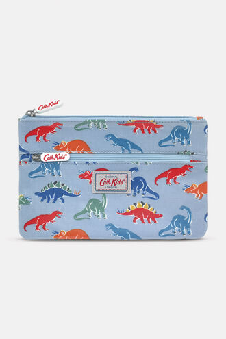 Kids Double Zip Pencil Case