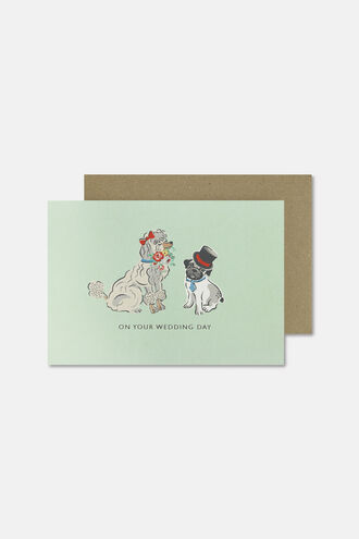 On Your Wedding Day Dog Card