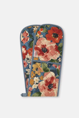 Painted Bloom Double Oven Glove
