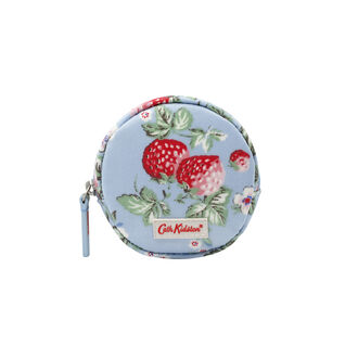 Mini Wild Strawberry Round Coin Purse