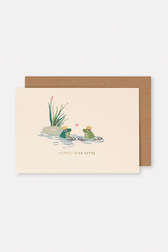 Hoppily Ever After Card
