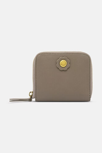 Leather Compact Continental Wallet