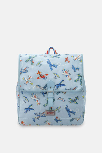 Airshow Print Kids Satchel Backpack