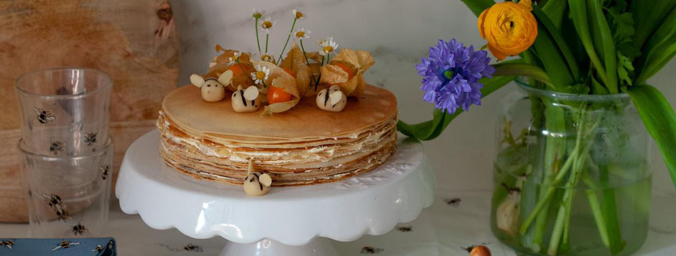 How to Make a Crepe Cake with Manon Lagreve for Pancake Day - Cath Kidston