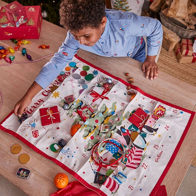 What to put in a reusable Advent Calendar