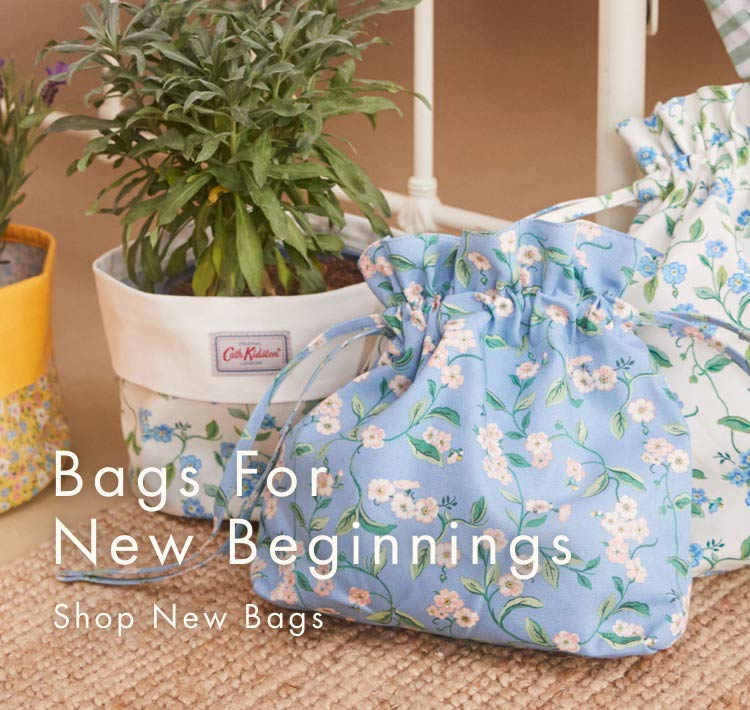 Bags for New Beginnings. Shop new bags.