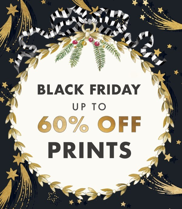 Black Friday - Up to 60% off Prints - Cath Kidston