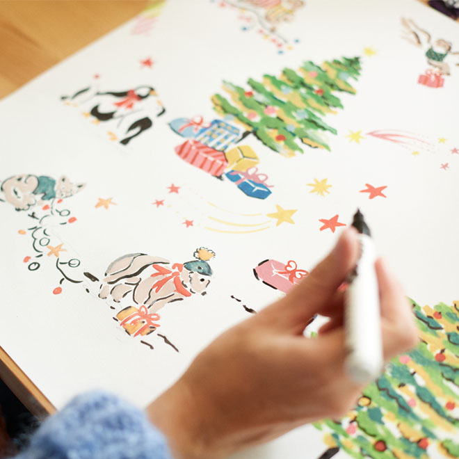 Behind the Deisgns of Cath Kidston Christmas Collection