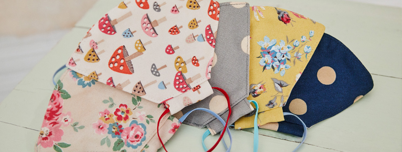 Floral Face Coverings - Cath Kidston