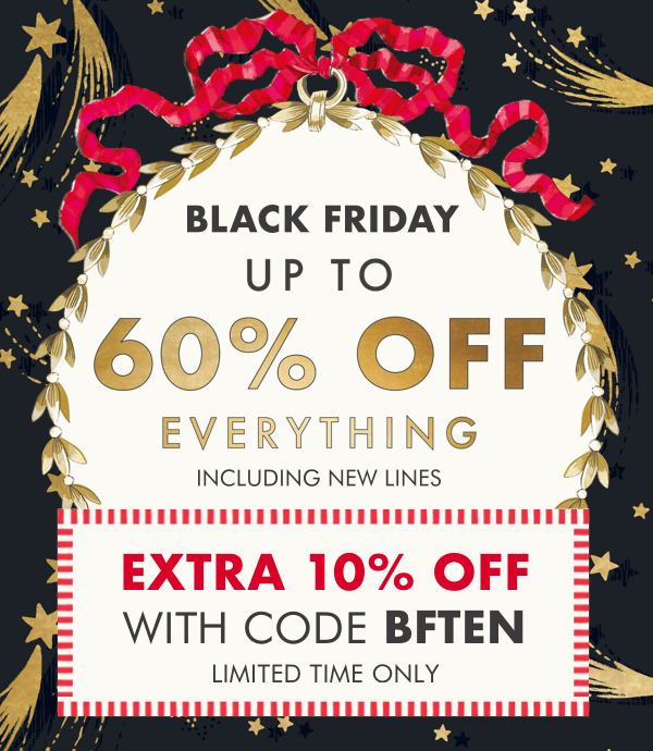 Black Friday - Up to 60% off New Arrivals - Cath Kidston