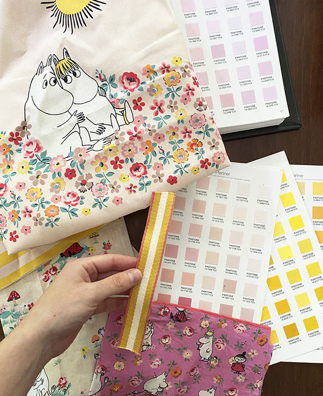 Drawing Moomin collection - Cath Kidston