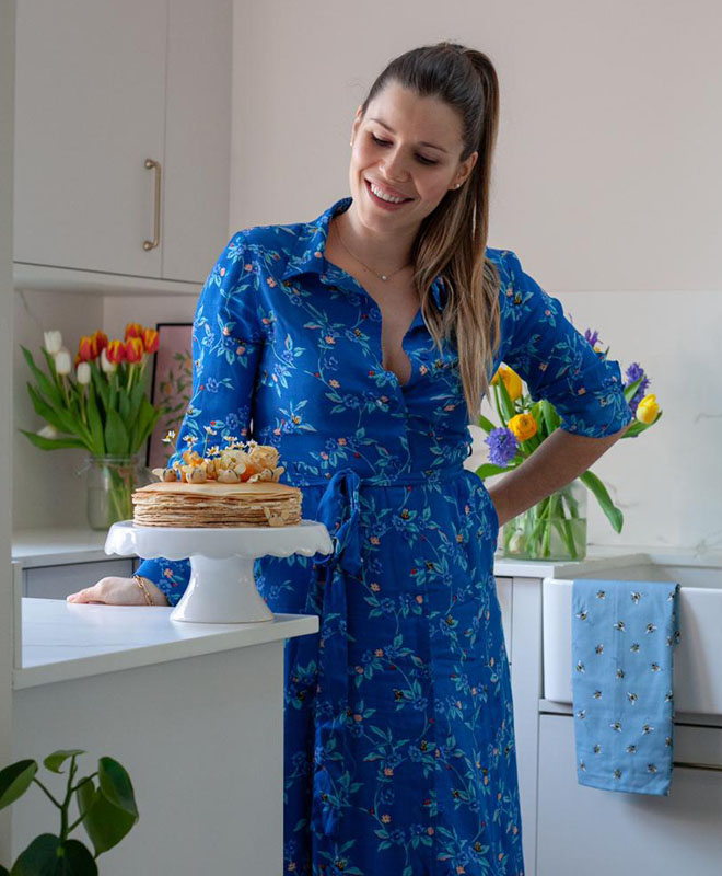 Manon Lagreve from The Great British Bake Off - Cath Kidston