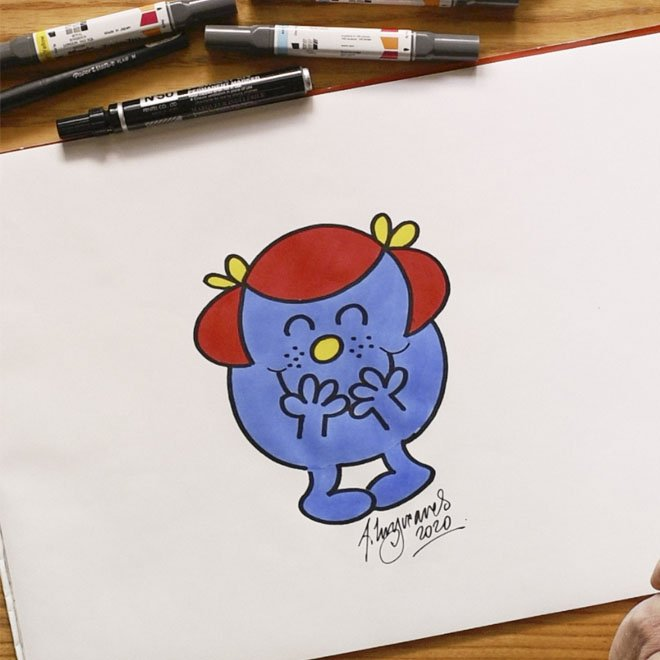 How to Draw Mr Men with Adam Hargreaves and Cath Kidston