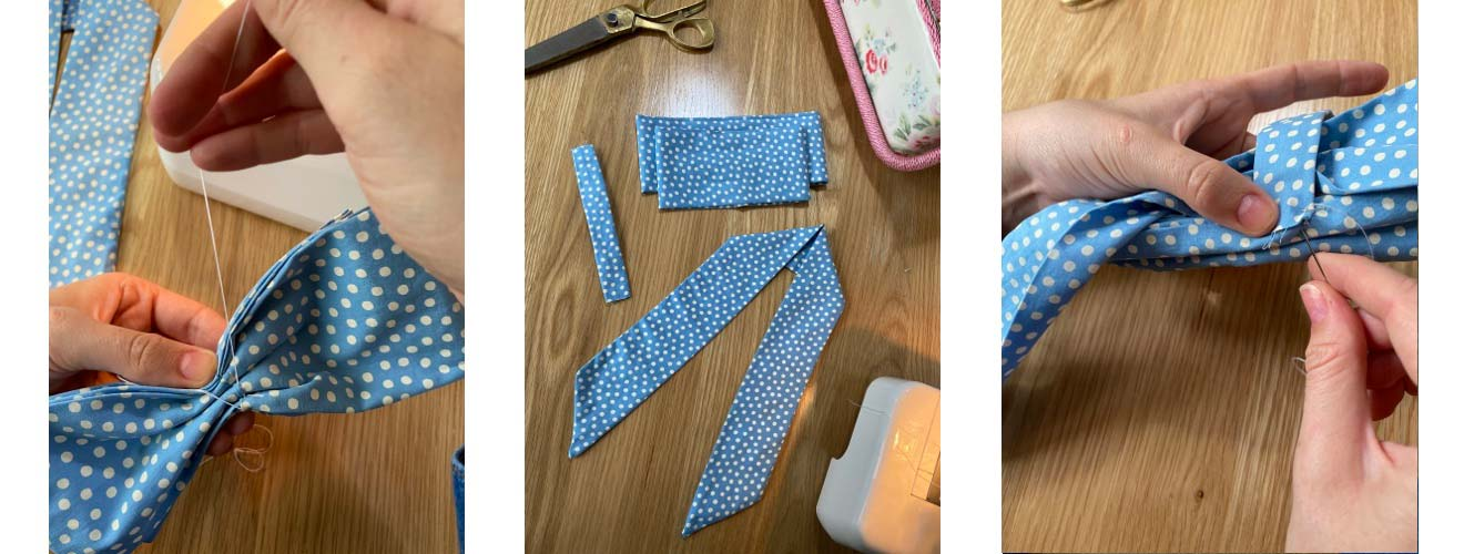 how to make a fabric bow - Cath Kidston