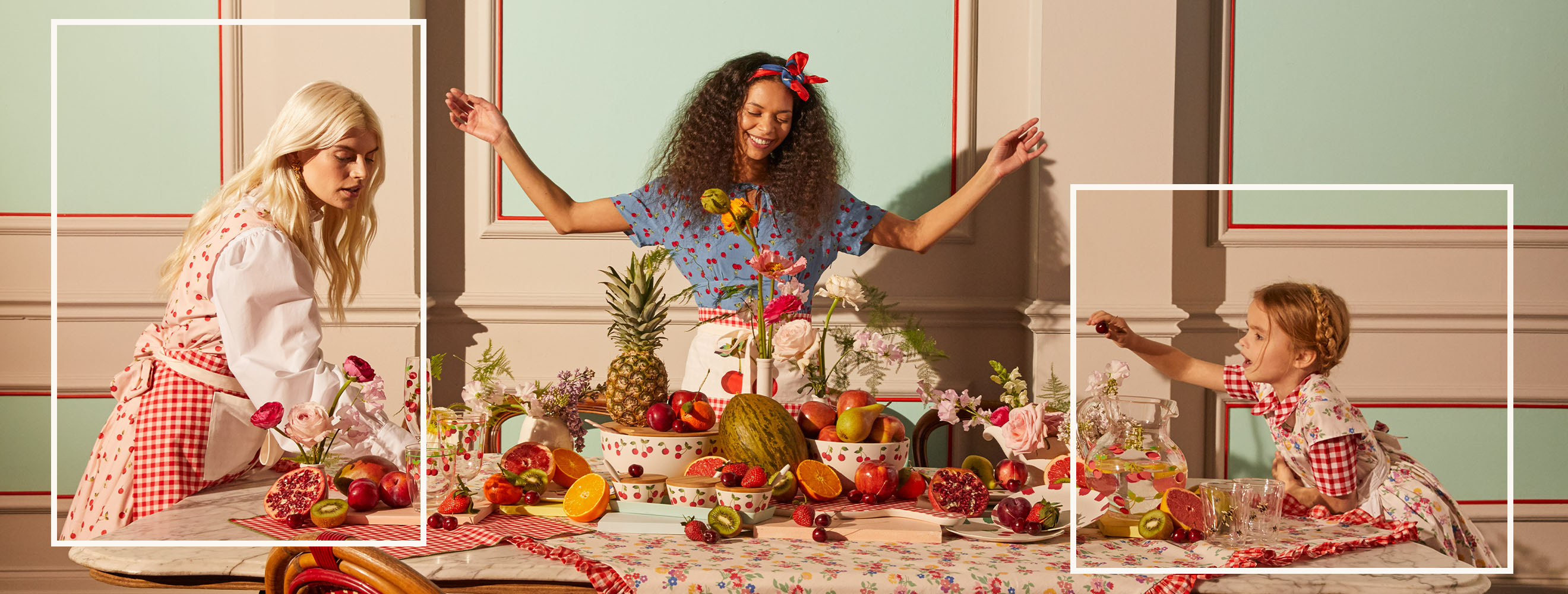 How to create the ultimate picnic table for summer with Cath Kidston