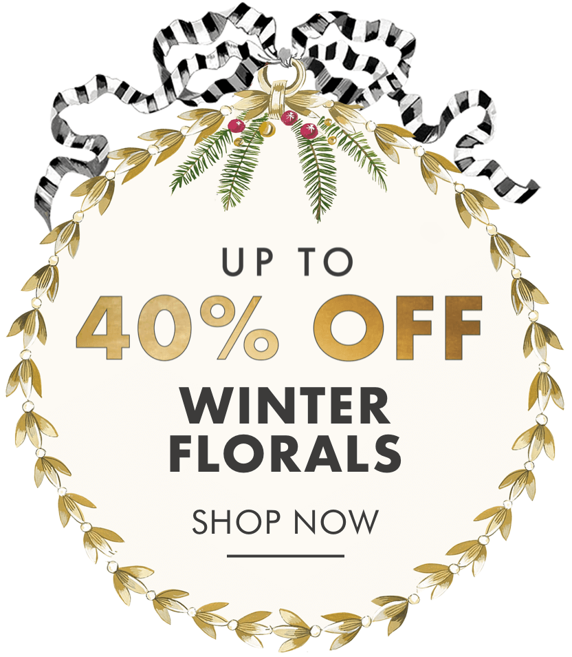 Up to 40% off Winter Florals - Cath Kidston