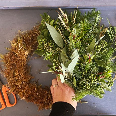 How to Make your own Christmas Wreath - Cath Kidston