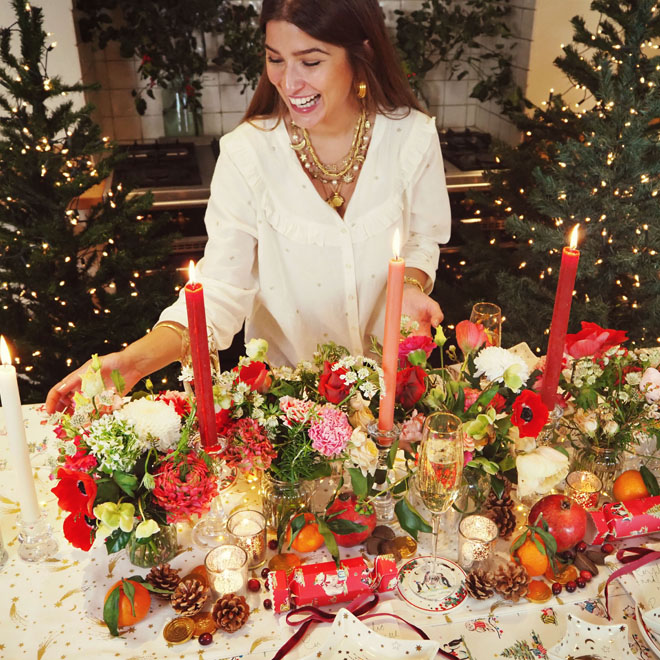 Christmas Tablescape ideas with Rowan Blossom - Cath Kidston