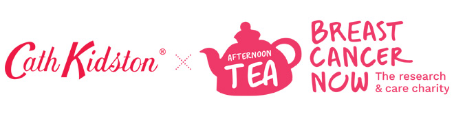 Breast Cancer Now Afternoon Tea - Cath Kidston
