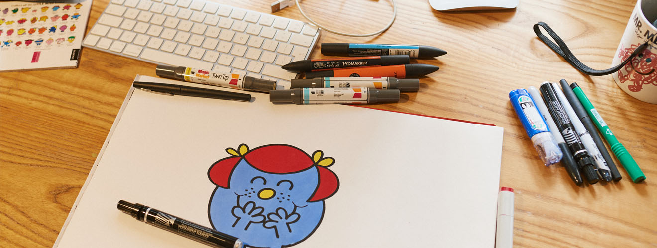 How to draw Little Miss Giggles - Cath Kidston
