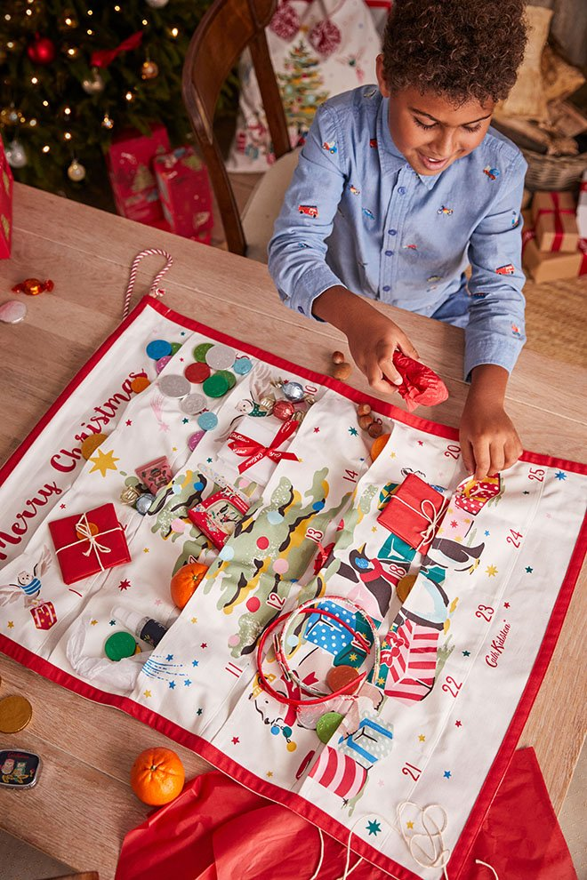 Fabric Reusable Advent Calendar - Cath Kidston