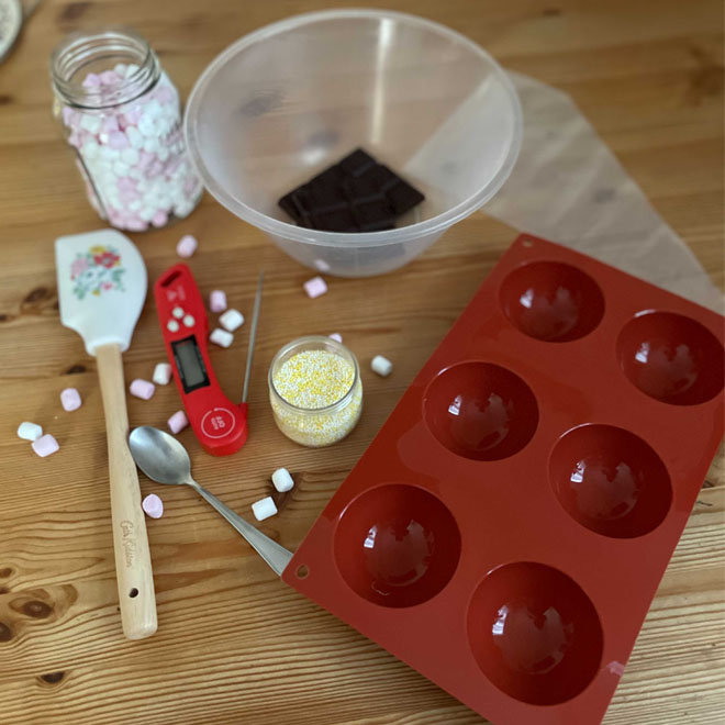 What You need to make hot chocolate bombs - Cath Kidston