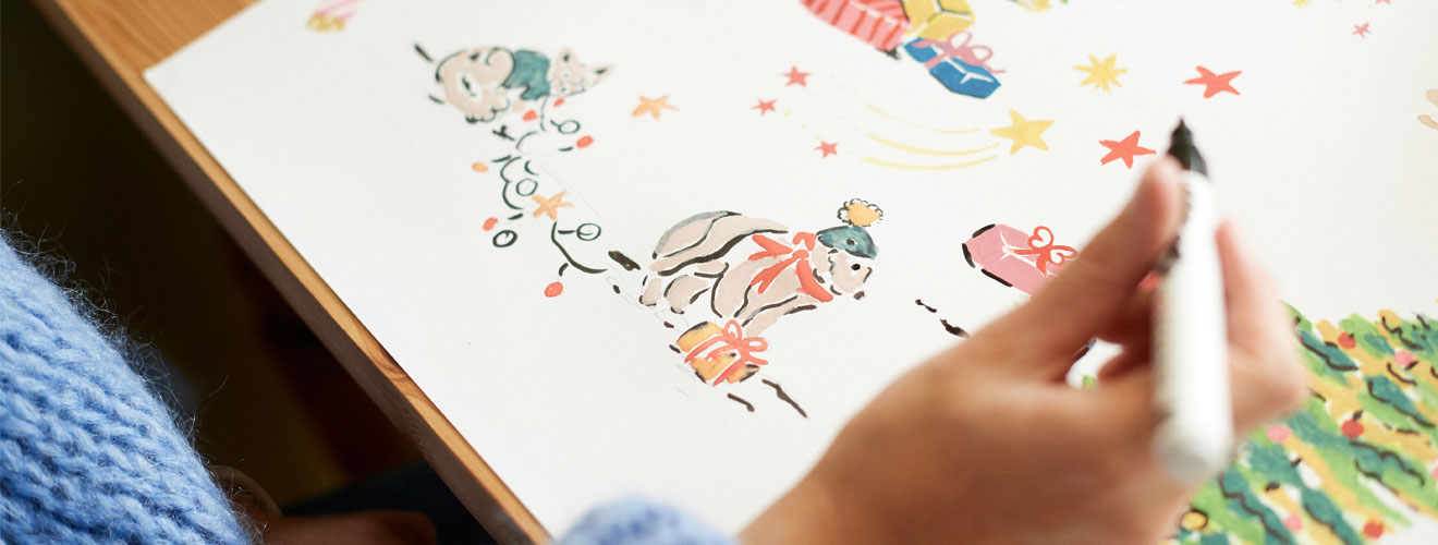 Behind the Designs of Christmas - Cath Kidston