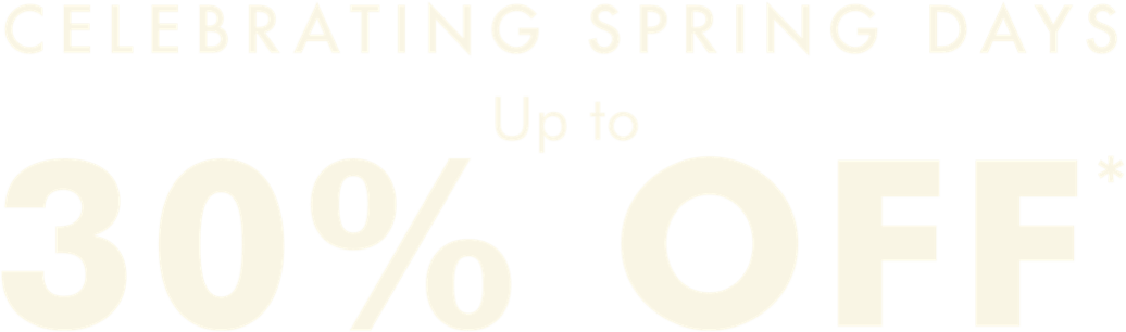 30% off selected summer lines