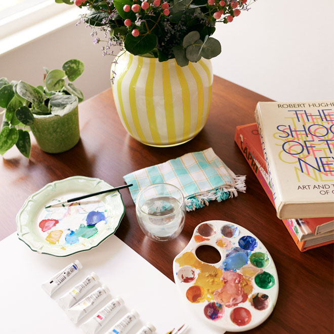 What You need to Paint Christmas Stars Print - Cath Kidston