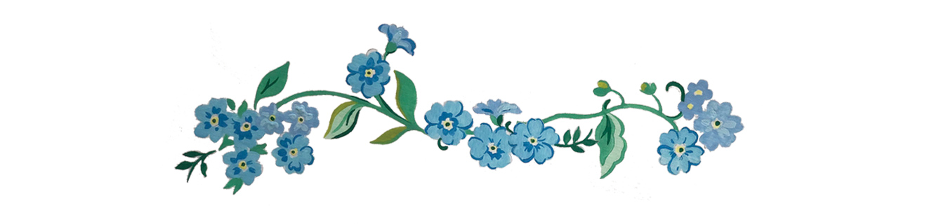 Forget me not print - Cath Kidston