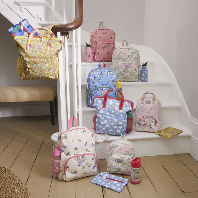 Back to school kids bags and accessories