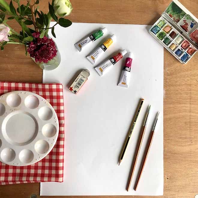 What You need to Paint summer floral Print - Cath Kidston