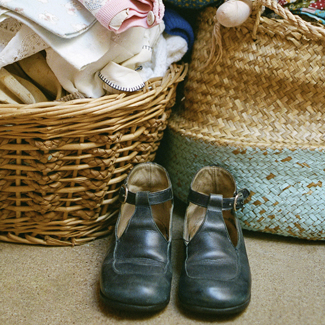 vintage shoes - Cath Kidston inspiration