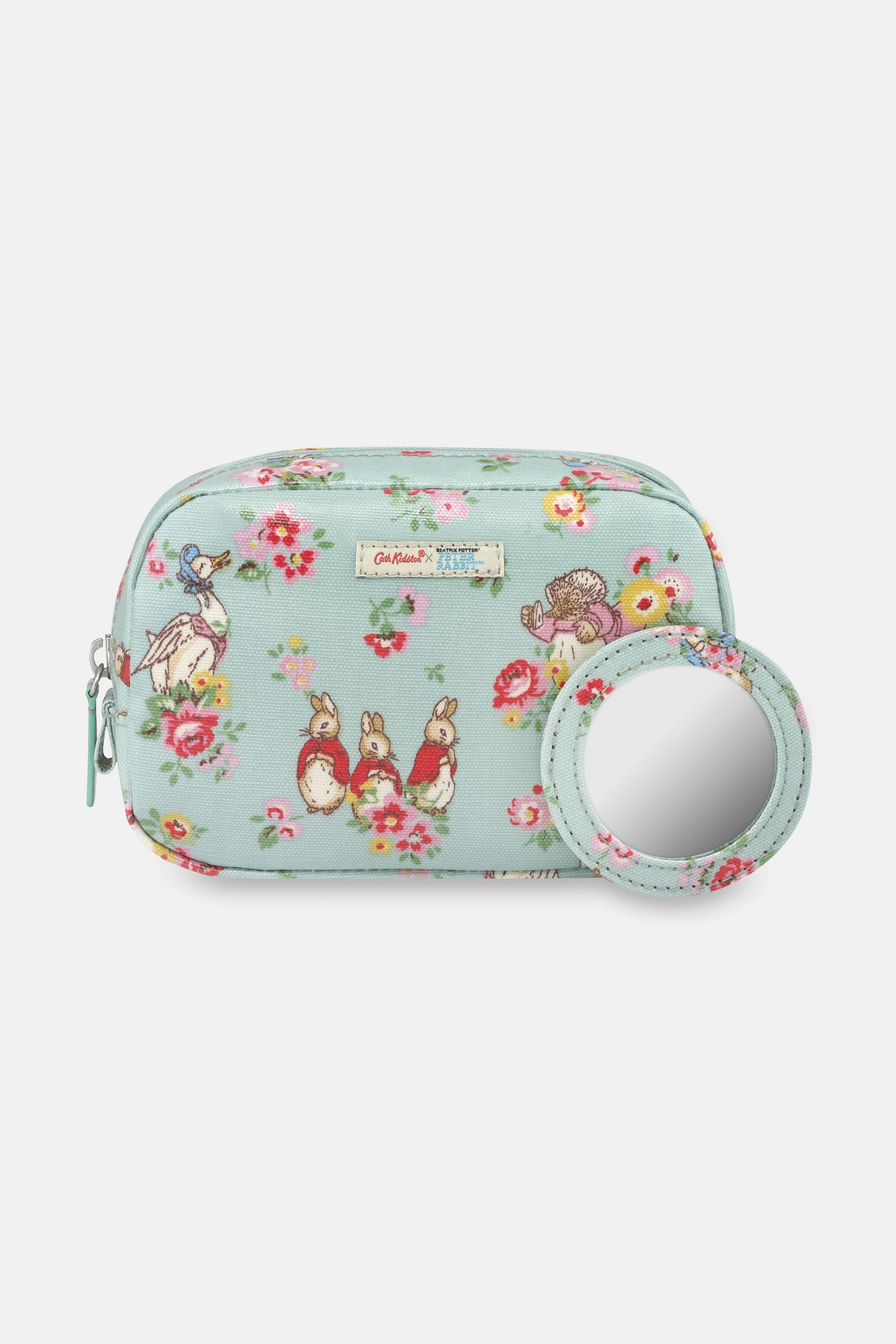 Cath Kidston Peter Rabbit Ditsy Classic Make Up Bag in Mint
