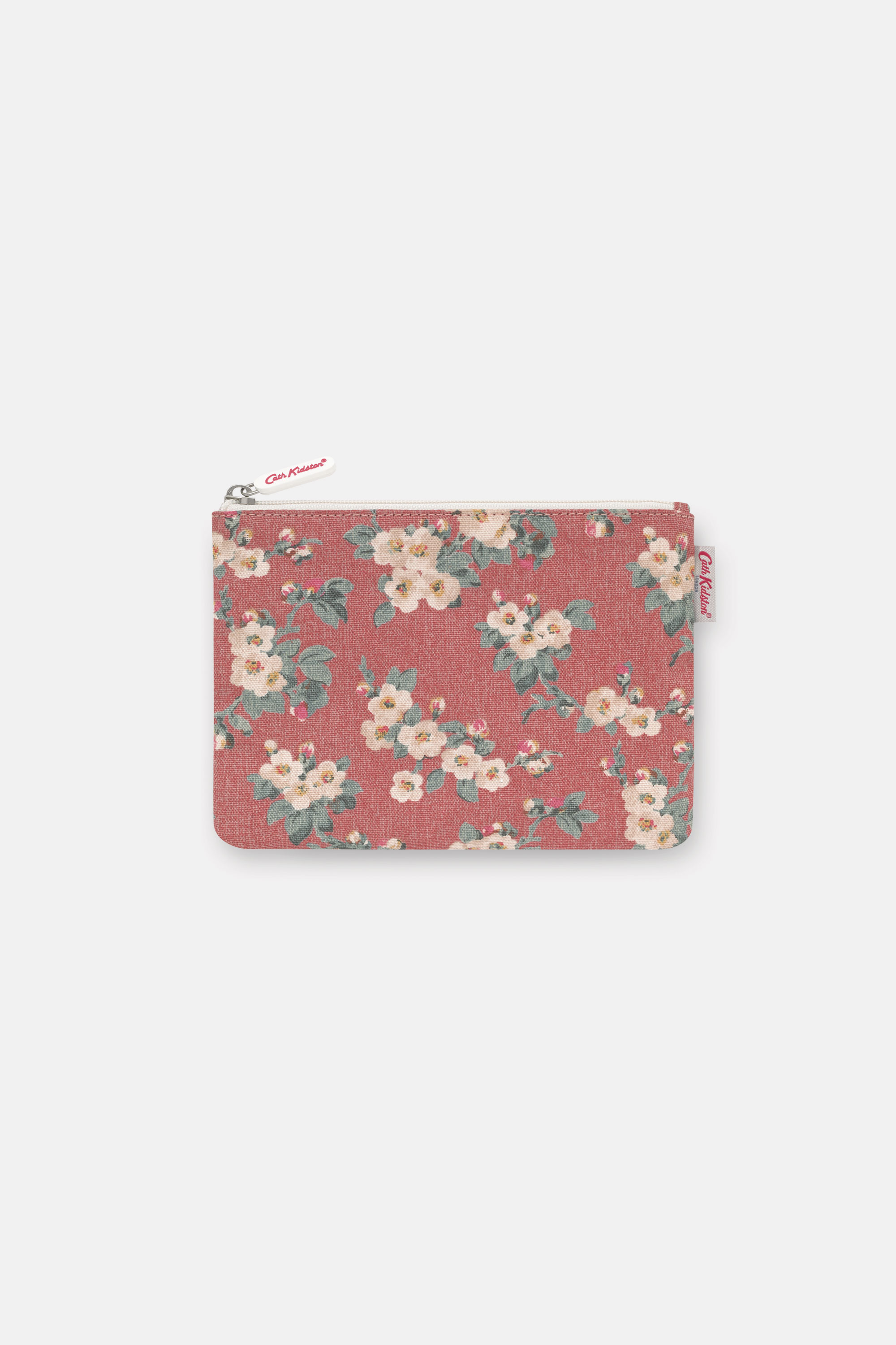 Cath Kidston Mayfield Blossom Pouch in Dusty Pink, 100% Cotton