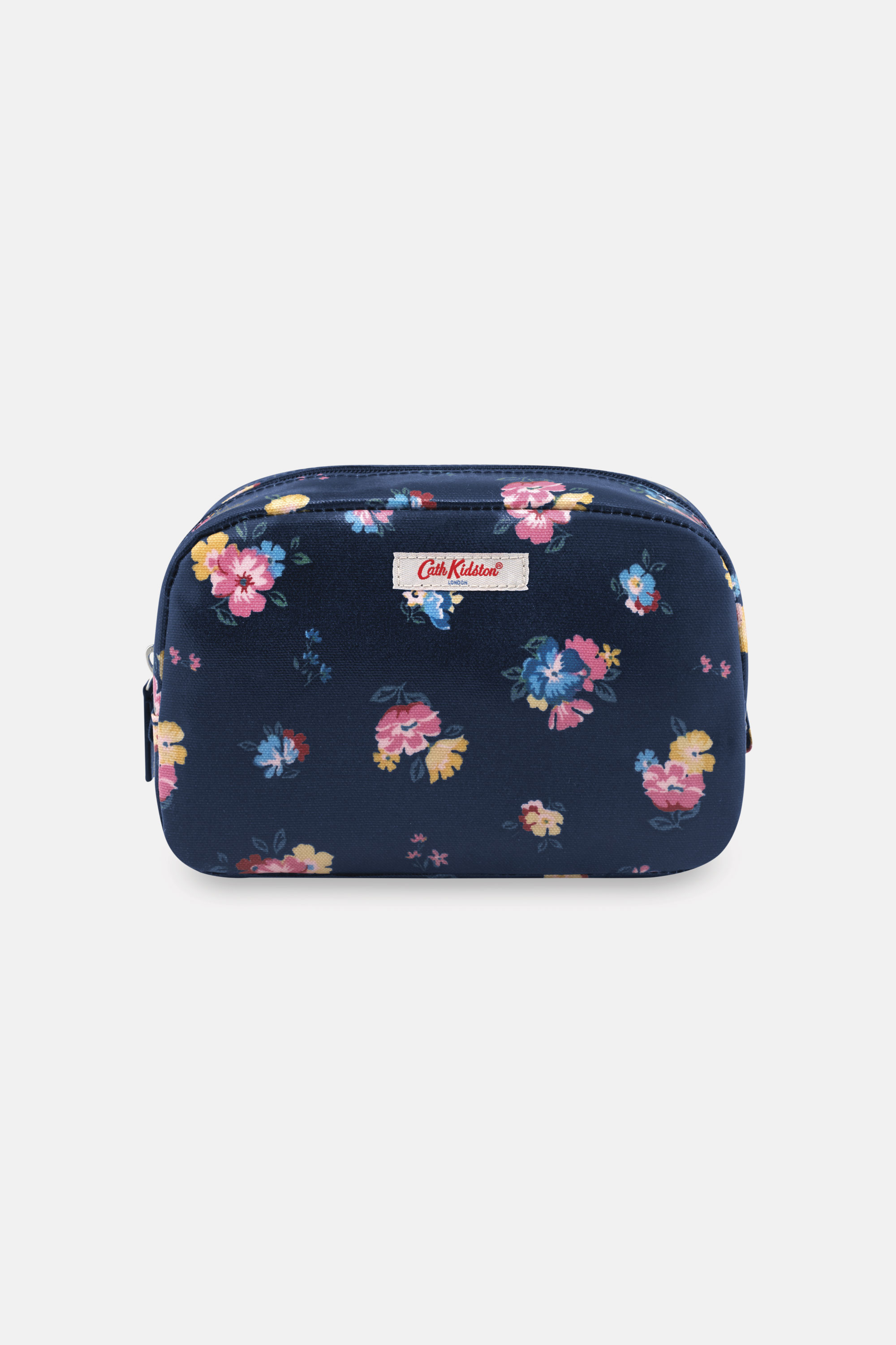 Cath Kidston Park Meadow Bunch Classic Cosmetic Bag in Navy