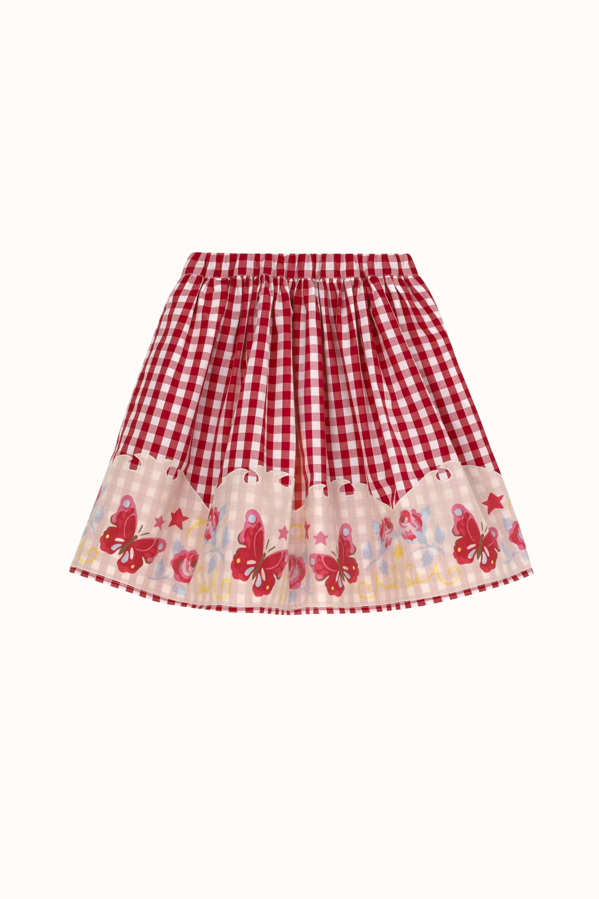 Cath Kidston Western Girl Polly Skirt in Red, 8-9 yr
