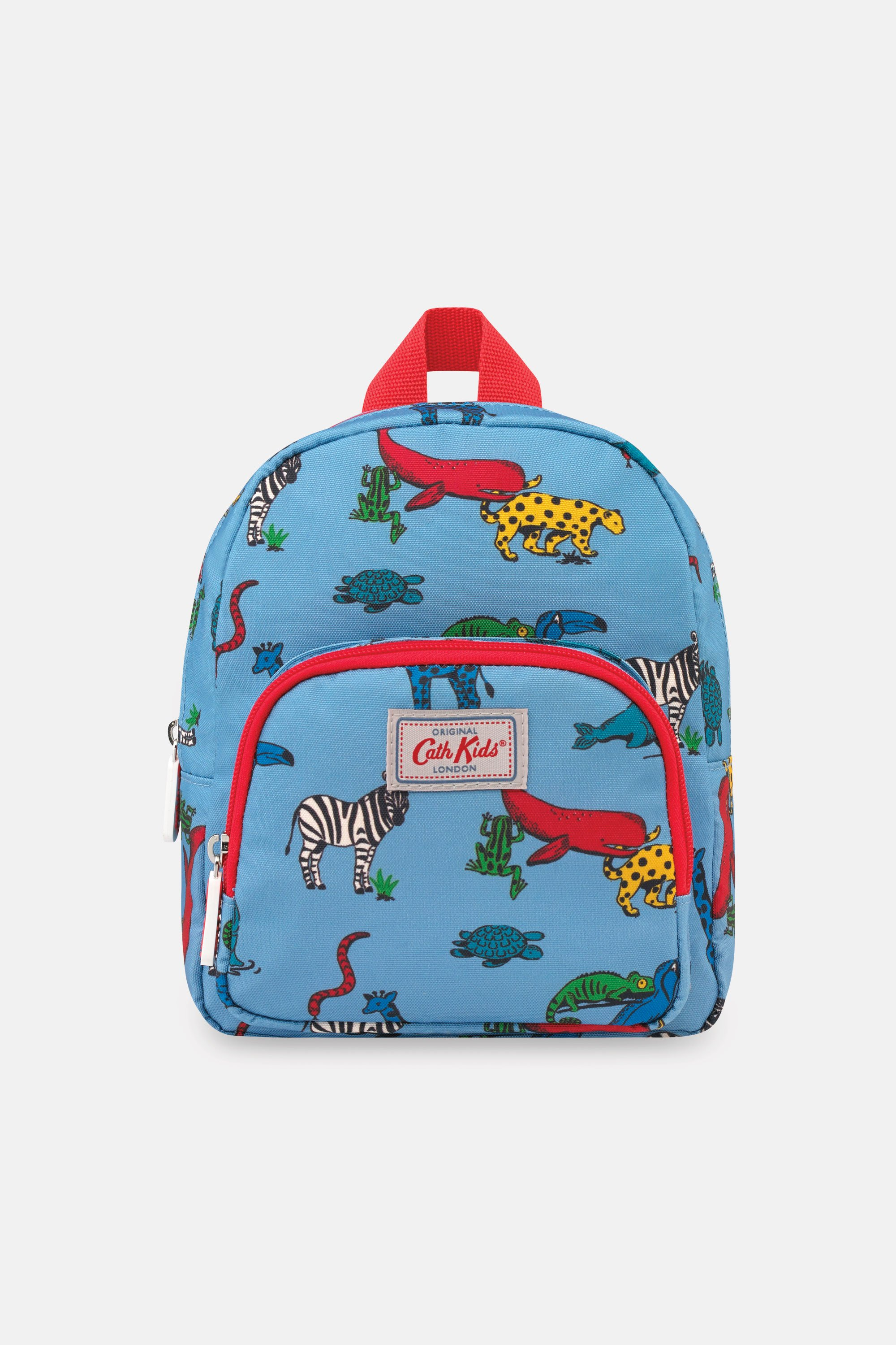 Cath Kidston Animals Kids Recycled Mini Backpack in Blue Grey
