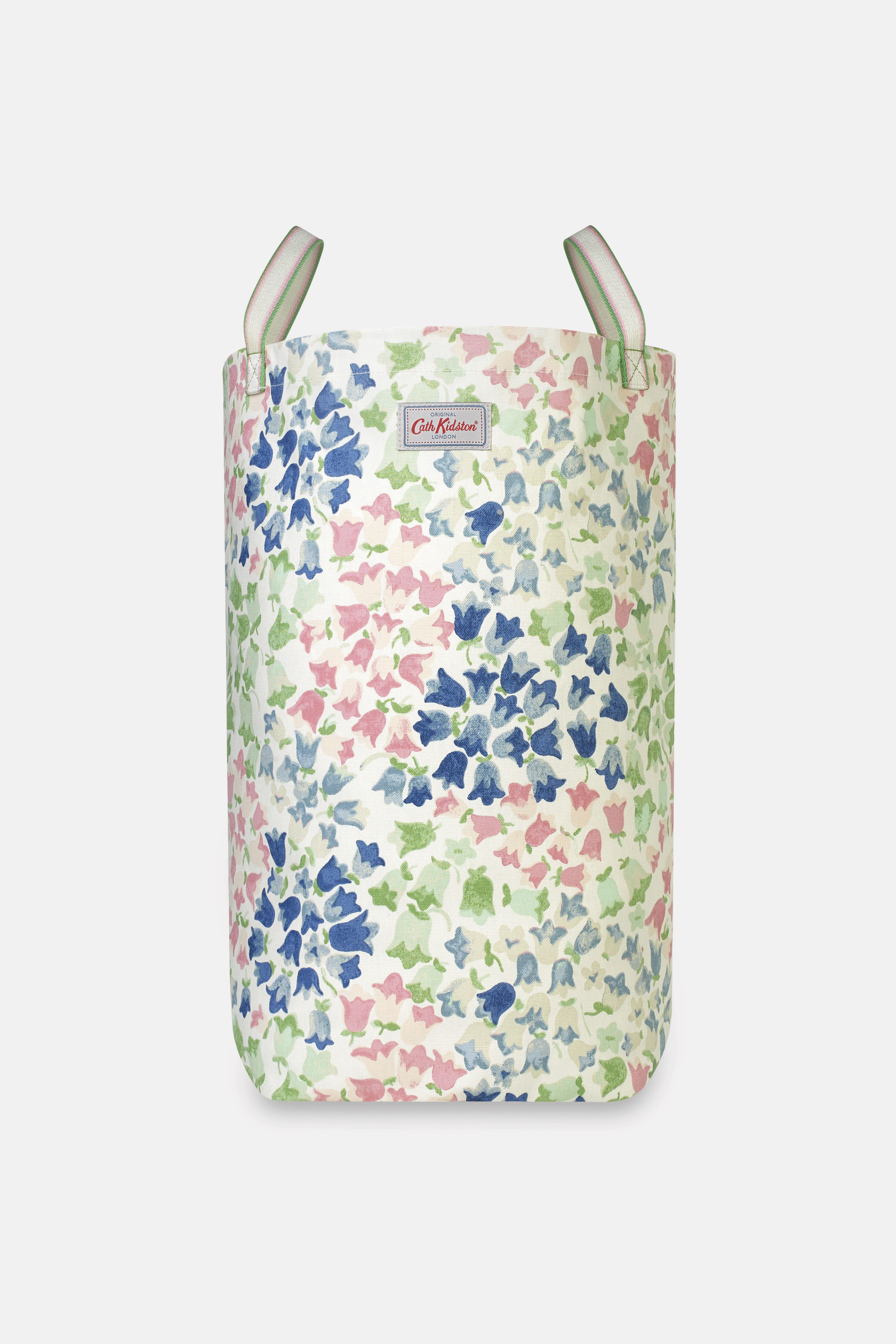 Cath Kidston Painted Bluebell Laundry Bag in Warm Cream