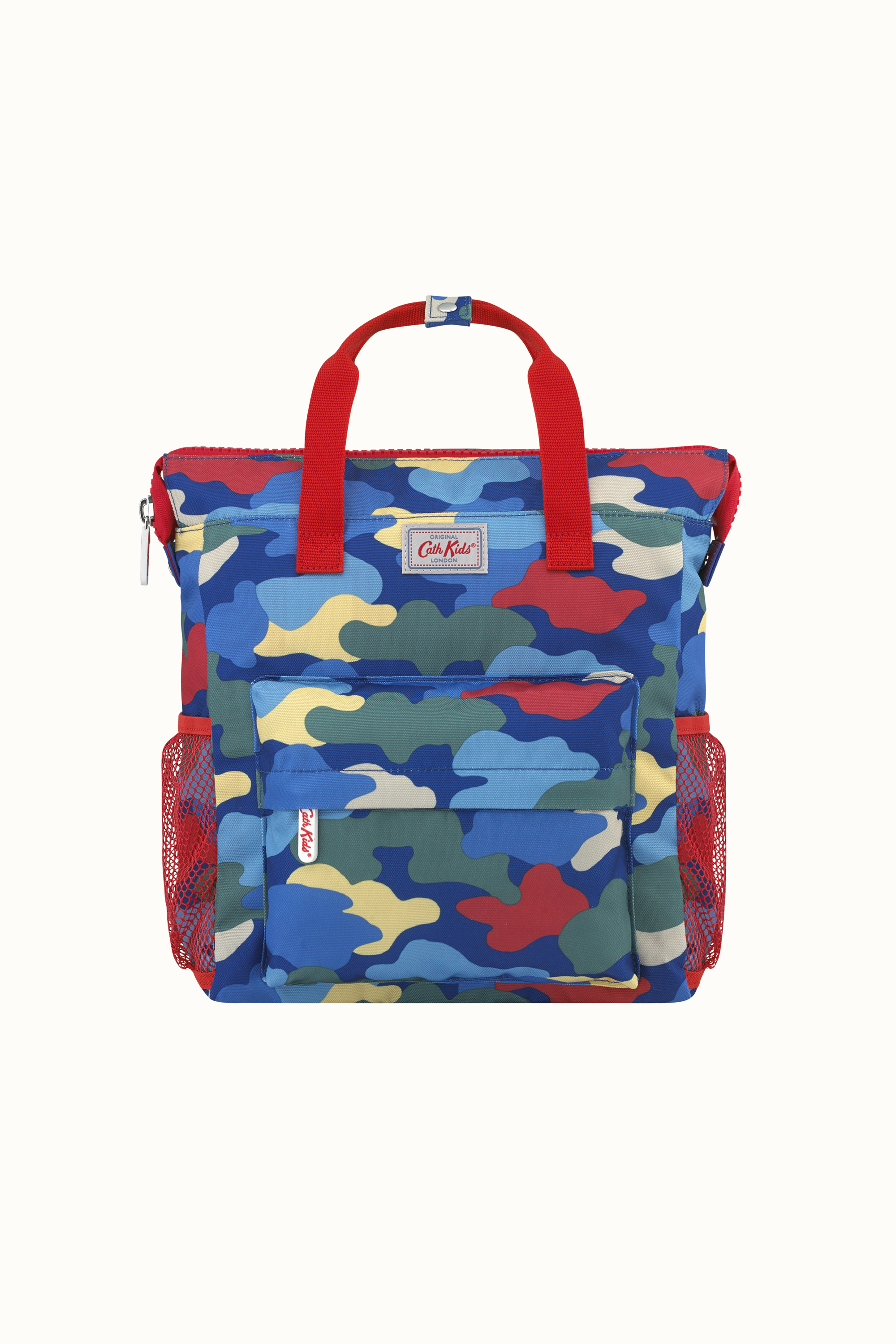 Cath Kidston Camouflage Kids Large Tote Backpack in Navy