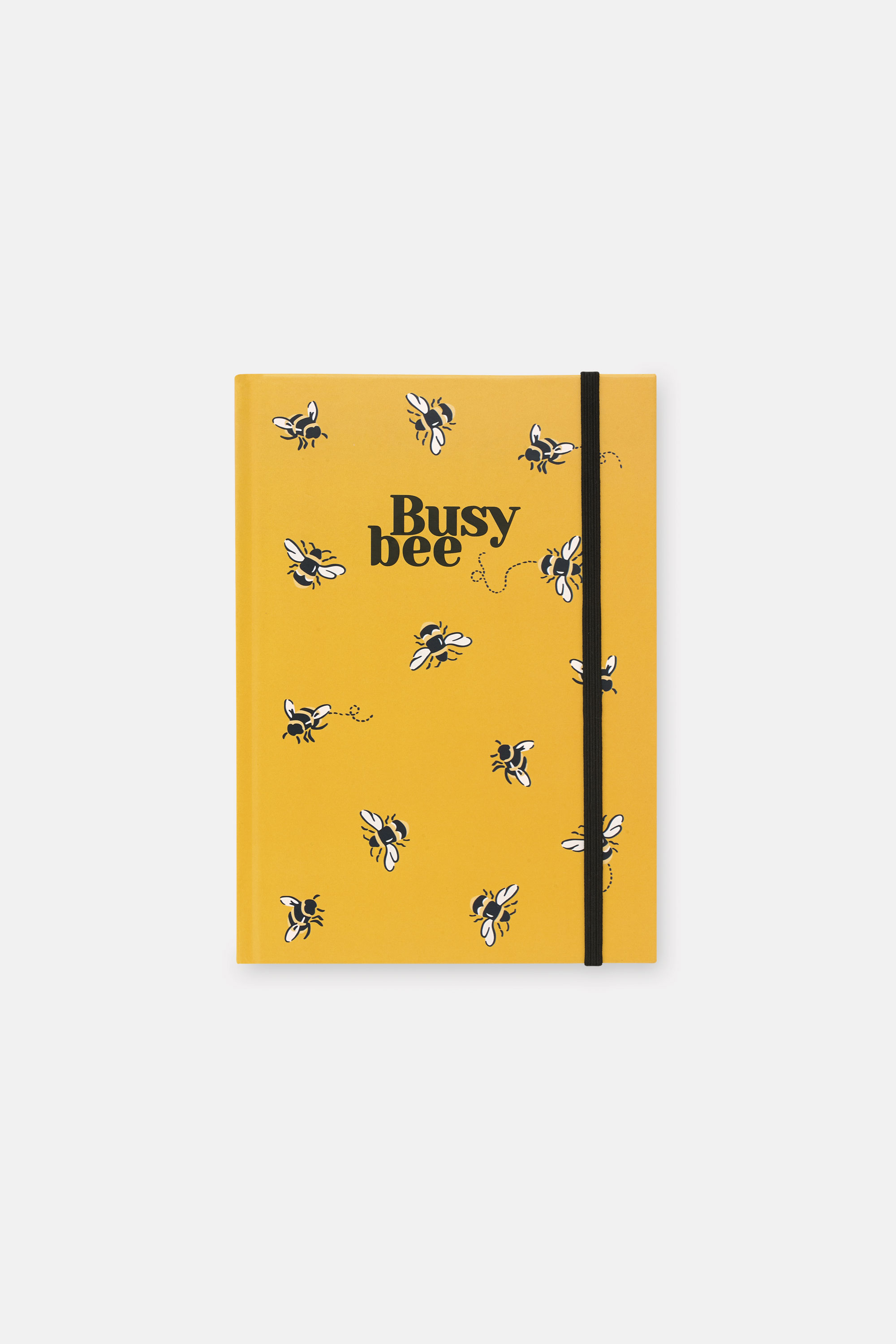 Cath Kidston Bee A5 Notebook in Deep Yellow