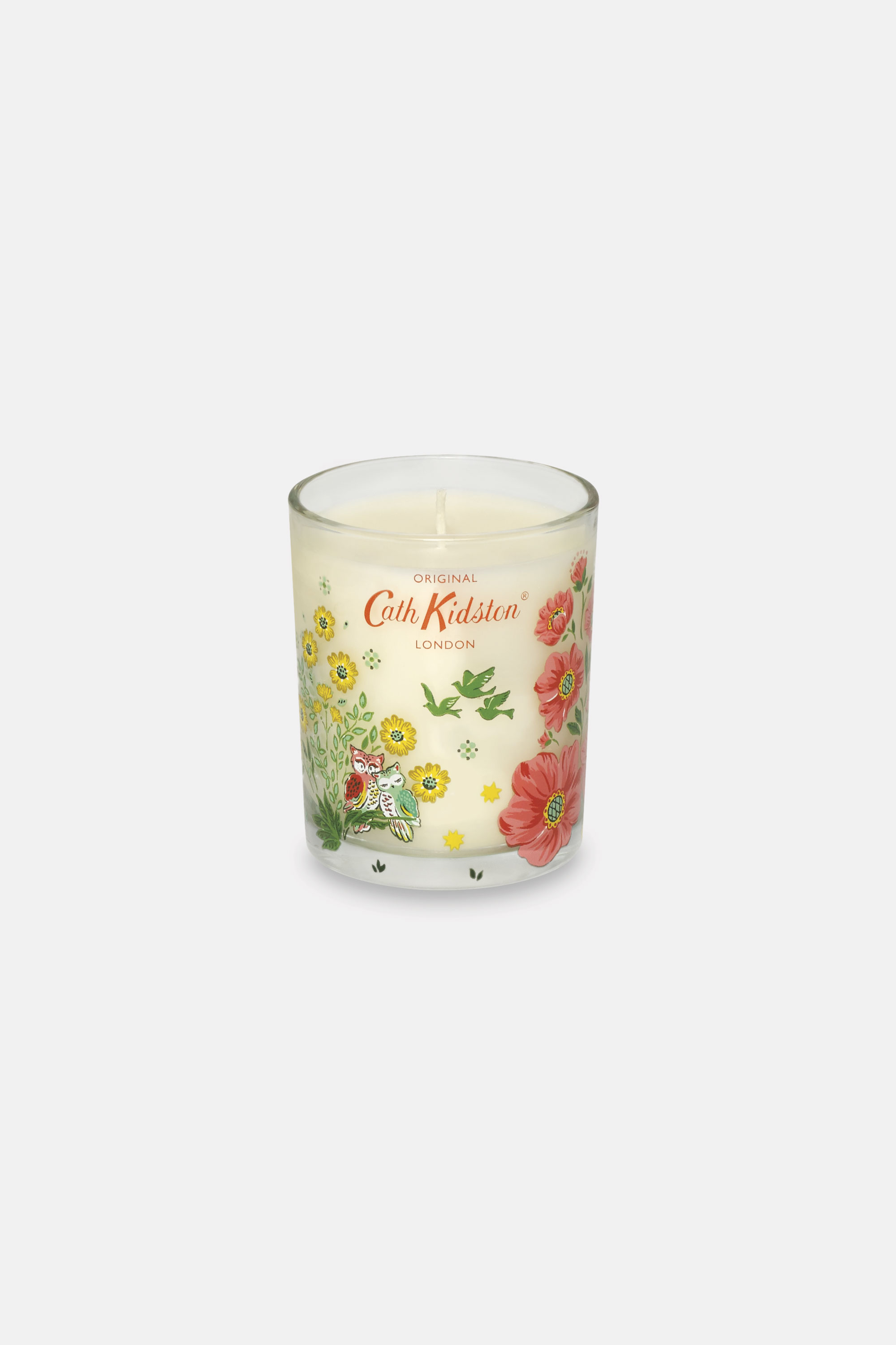 Cath Kidston Magical Woodland Lavender and Camomile Candle in Warm Cream