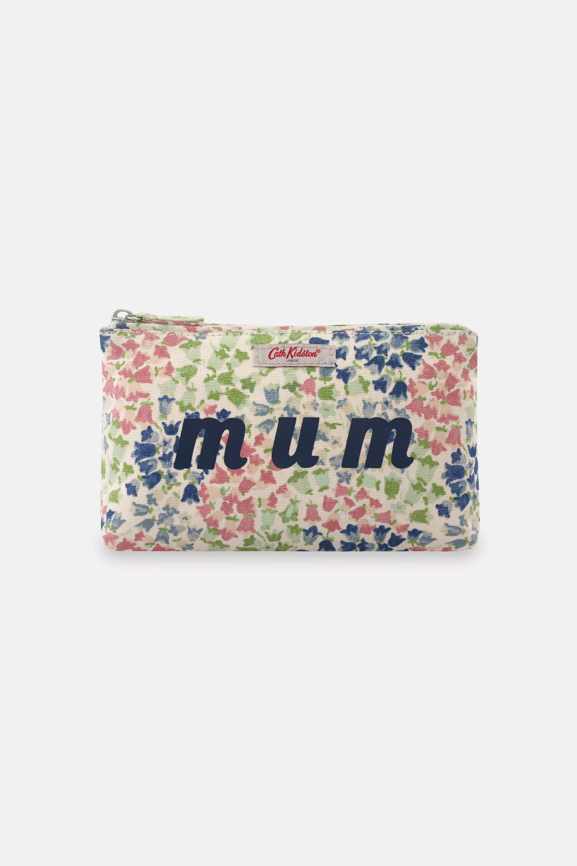 Cath Kidston Painted Bluebell Mum Pouch in Warm Cream