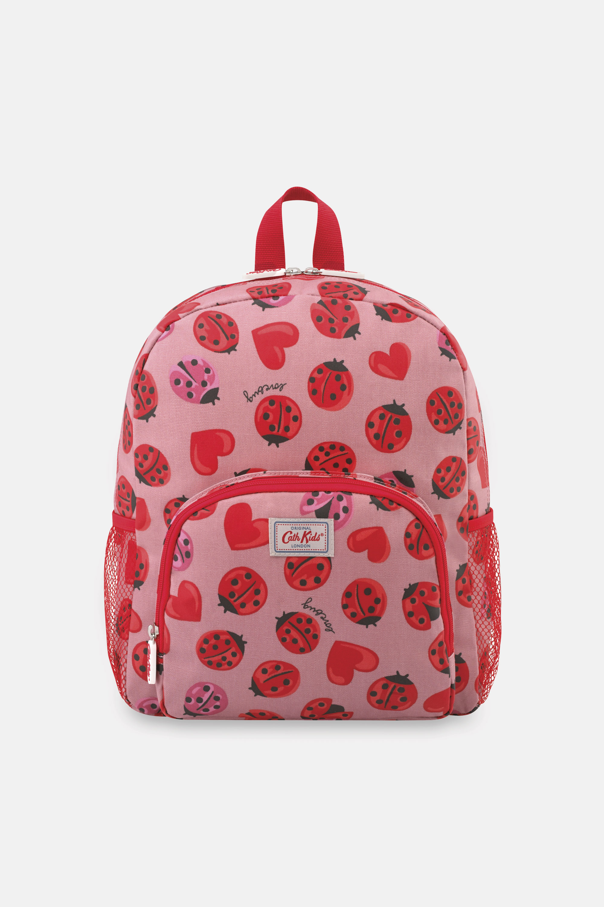 Cath Kidston Lovebugs Kids Large Backpack in Pale Rose