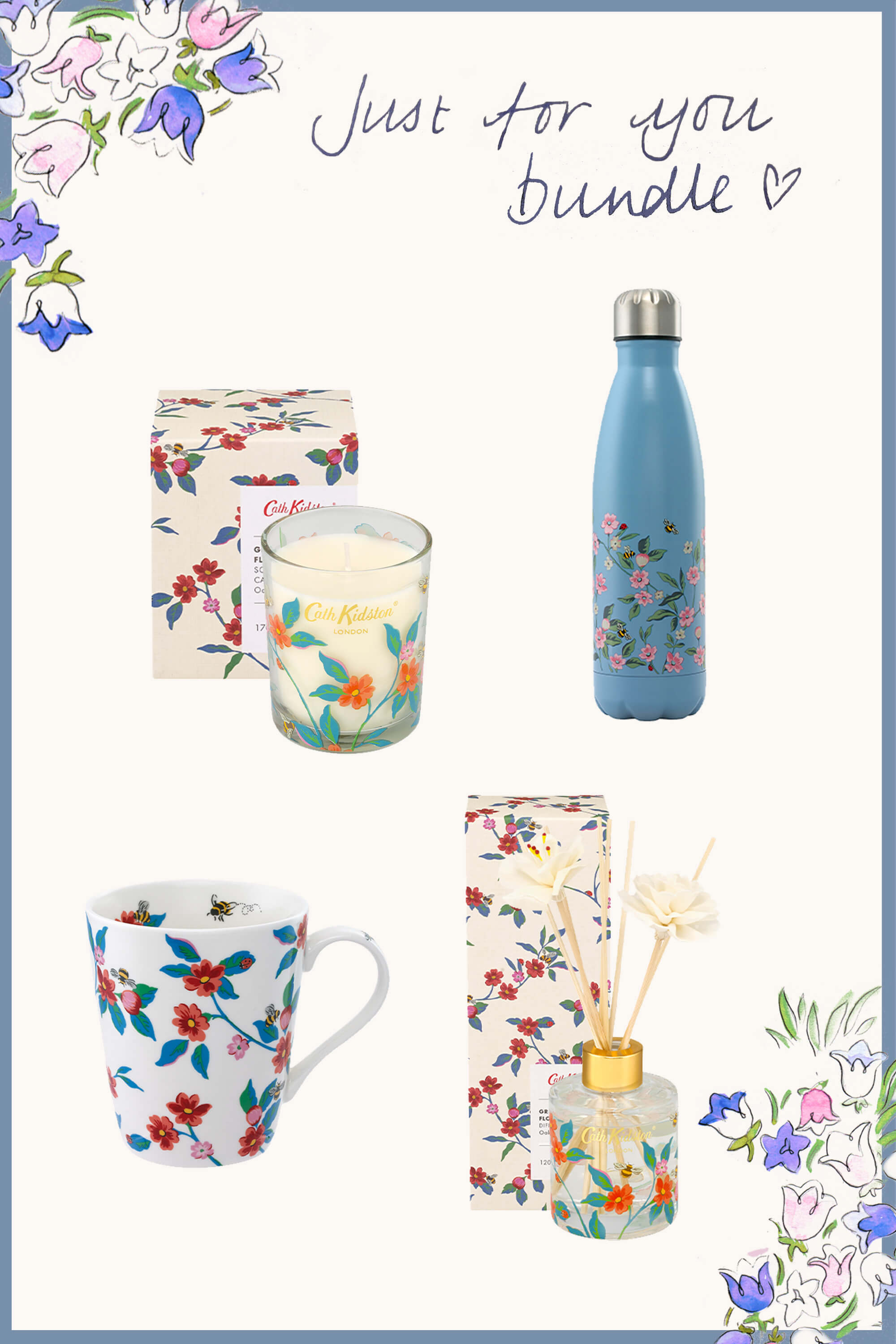 Cath Kidston The Just For You Bundle in Warm Cream