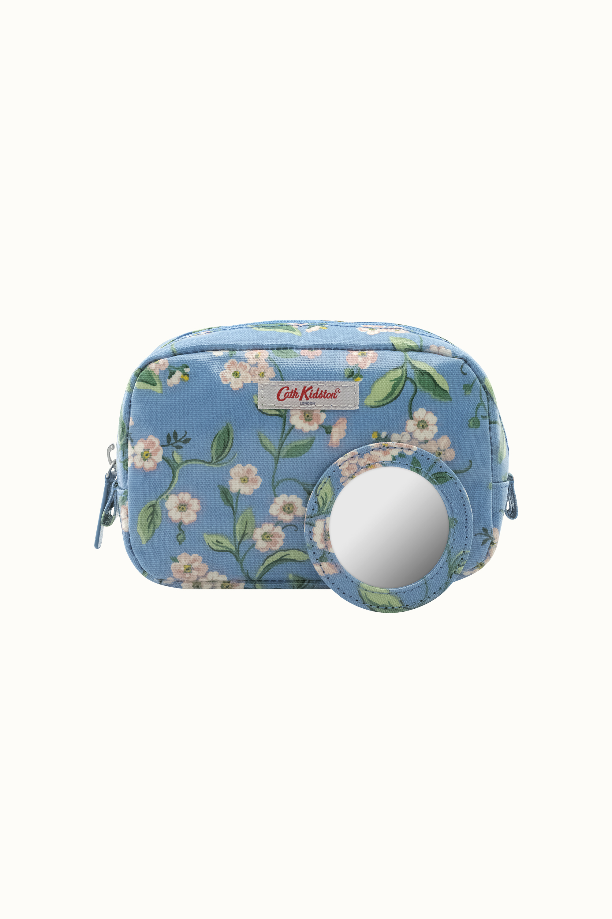 Cath Kidston Forget Me Not Classic Make Up Case in Mid Blue